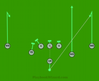 01 Comeback is a 8 on 8 flag football play